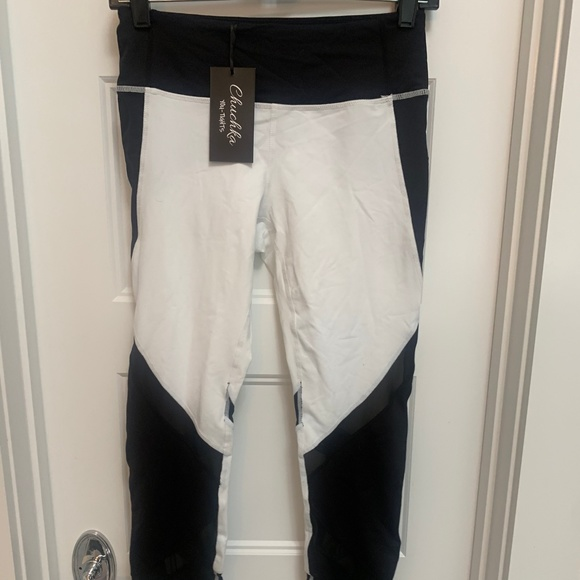 You-Tights Pants - Workout Pants - Black and White